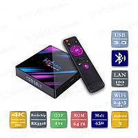 H96 MAX 4/64 Гб Smart TV Box ТВ приставка