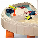 Little Tikes Детская песочница стол Веселая стройка с зонтом 401N Children's sandbox table Merry building, фото 5