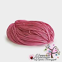 Полиэфирный шнур с сердечником, 5 мм (200 м), розовый