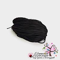 Полиэфирный шнур с сердечником, 5 мм (200 м), черный