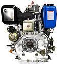 Двигатель дизельный Беларусь 186FE 10,0 л.с. (без шкива), фото 5