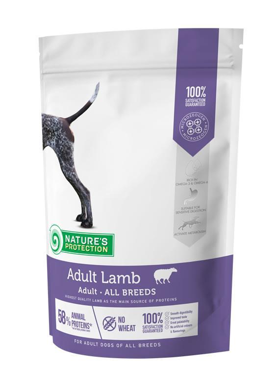 Корм для собак всех пород с ягненком  NP Adult Lamb All Breeds NATURE'S PROTECTION 500 г