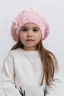 Шапка детская 126R002 цвет Розовый