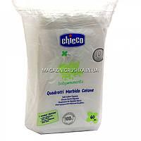 Chicco Kids Салфетки-полотенечко хлопковые для детей 02654.00