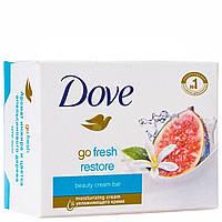Крем-мыло Dove свежесть с нотками инжира и цветка апельсинового дерева , 100 г