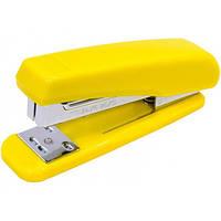 Сшиватель №24 / 6, 26/6 Economix, до 25 л., пласт. корпус, желтый E40284-05
