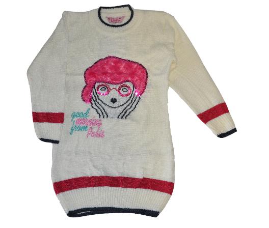 bcae32f9ec6 Пуловер для девочки