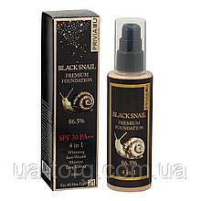 Тональный крем Privia U Black Snail Premium Foundation 4 in 1