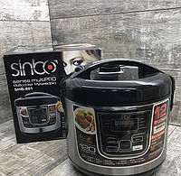 Мультиварка Sinbo SHB-801, 1500 Вт, 12 программ, 6 л + книга рецептов