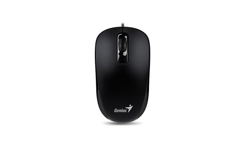 Мышь Genius DX-110 (31010116106) черная PS/2