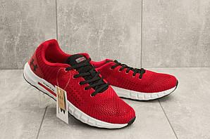 Мужские кроссовки текстильные весна/осень красные Ditof A 1076 -9