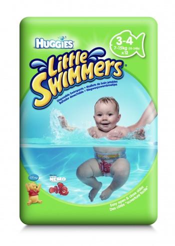 Трусики - подгузники для плаванья Huggies Little Swimmers 3 - 4 ( 7-14 кг) 12 шт.