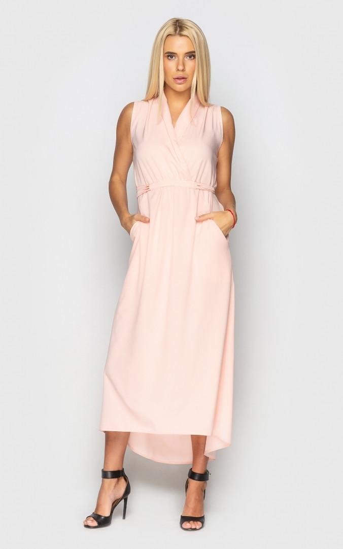 Шикарне плаття міді (персикове)