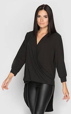 Повседневная блуза (черная)
