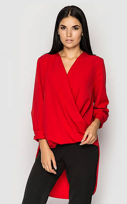 Повседневная блуза (красная)
