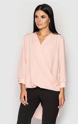 Повседневная блуза (персиковая)