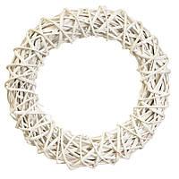 """Декор из лозы """"Плетёный круг"""" 33 см, фото 1"""