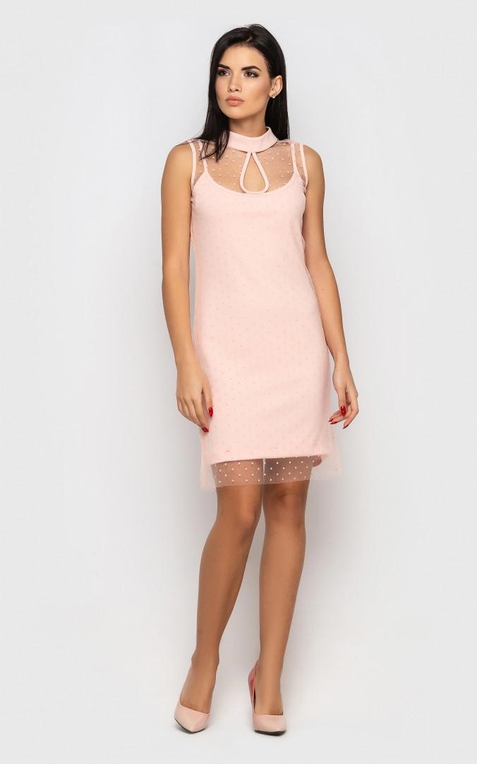 Платье праздничное (розовое)