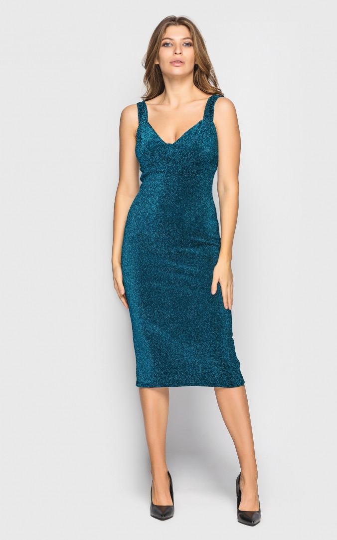 Сукня міді (зелене)