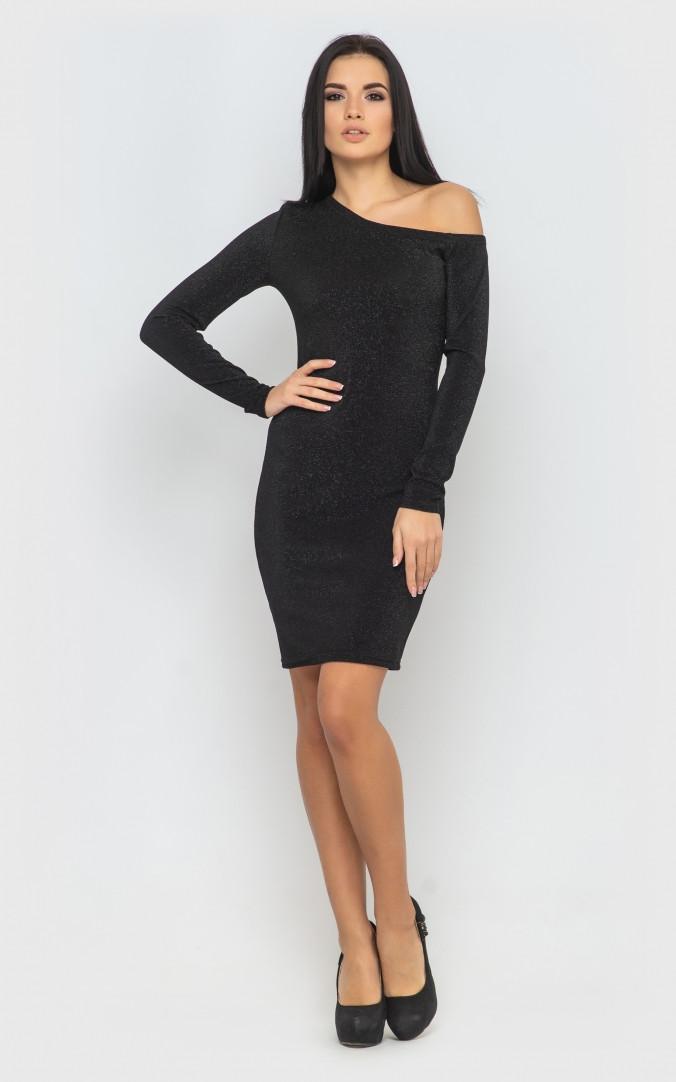 Сукня облягає (чорне)
