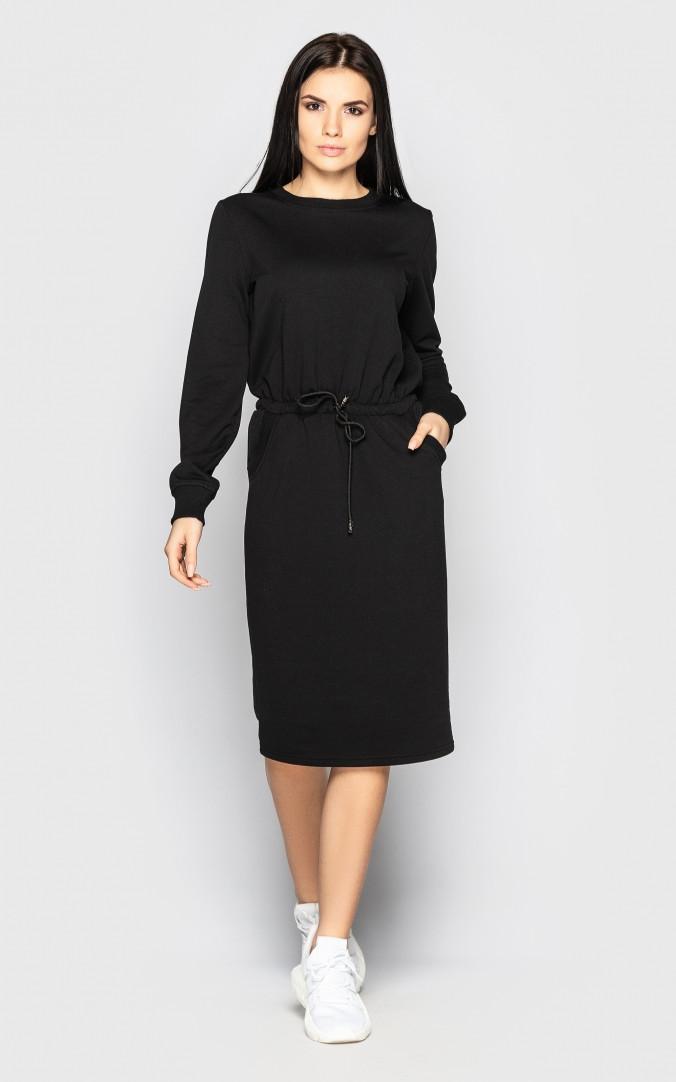 Спортивне плаття (чорне)