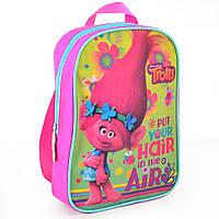 Рюкзак детский дошкольный 1 Вересня K-18 Trolls, 25х17х6 см, для девочки