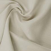 Декоративна однотонна тканина рогожка бежева 300см 122000v3