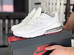Мужские кроссовки Nike Air Max 270 React (белые) 9139, фото 2