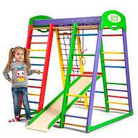 Деревянный детский спортивный комплекс «Акварелька мини»