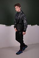 Камуфляж Спортивный костюм Найк  Nike: Ветровка Найк Nike + Штаны + Барсетка в подарок