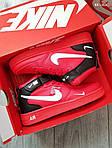 Мужские кроссовки Nike Air Force 1 07 Mid LV8 (красные) KS 1363, фото 5