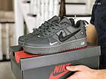 Мужские кожаные кроссовки Nike Air Force 1 LV8 (серые) KS 1381, фото 6