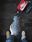 Мужские кожаные кроссовки Nike Air Force 1 LV8 (серые) KS 1381, фото 2
