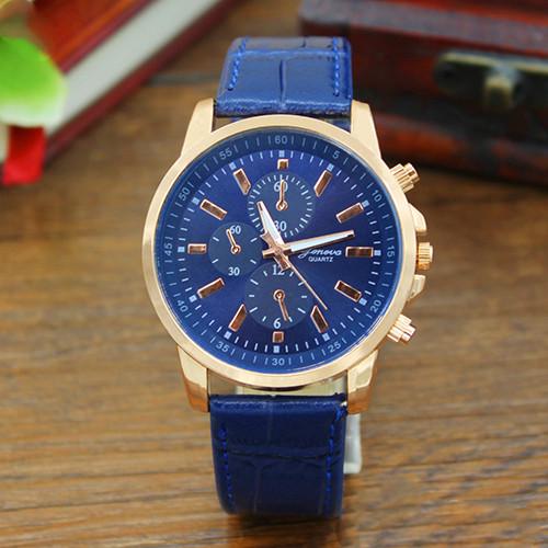 Женские наручные часы Geneva Classic синие