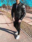 Мужской стильный бомбер (черный) - Турция (ar21), фото 7