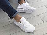 Мужские кроссовки Nike Air Max 270 React (белые) 9139, фото 5