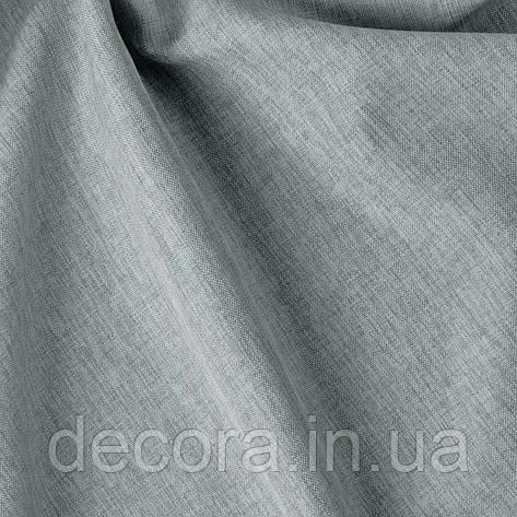 Римська штора із однотонної тканини рогожка сіра 122000v22, фото 2