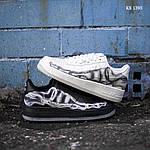 Мужские кроссовки Nike Air Force 1 Low Skeleton (черные) KS 1395, фото 2