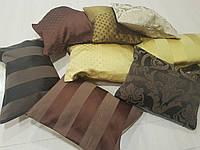 Комплект подушек золото, шоколад, коричневые 8шт, фото 1