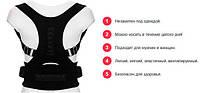 Корректор осанки магнитный Real Doctors Posture Support- Новинка, фото 3