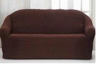Накидка для дивана №16 КОРИЧНЕВЫЙ