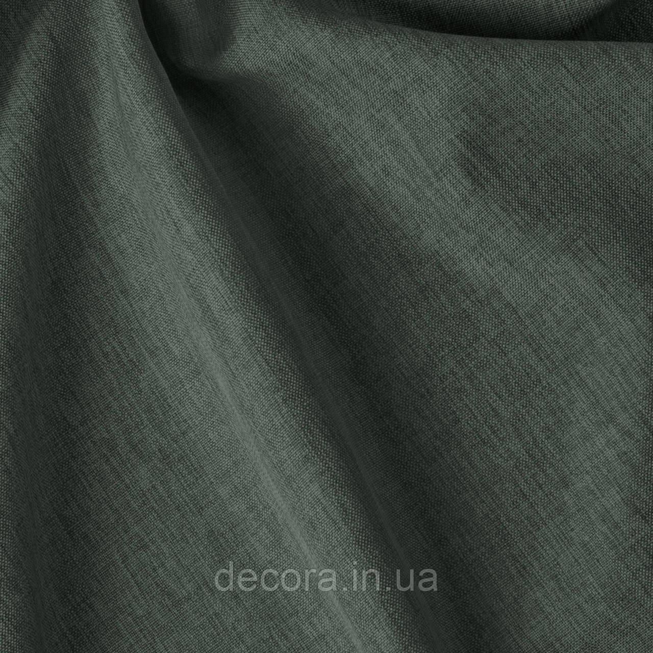 Римська штора із однотонної тканини рогожка сіра 122000v33