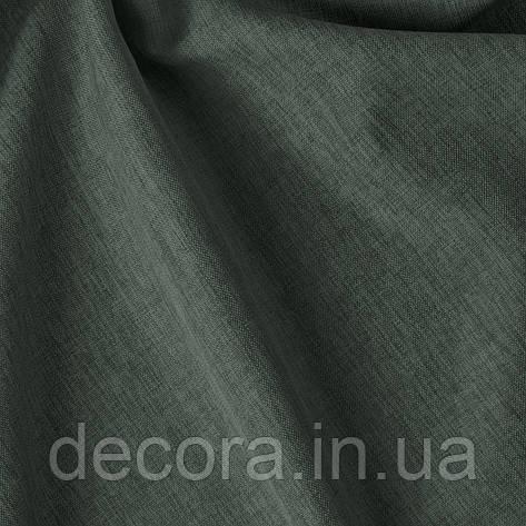 Римська штора із однотонної тканини рогожка сіра 122000v33, фото 2