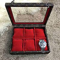 Louis Vuitton 6 Watch Case Monogram