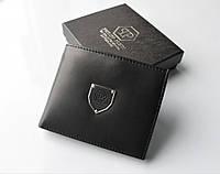 Мужской кожаный кошелек Philipp Plein 15 черный