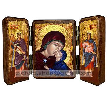 Икона Анна Святая Праведная мать Пресвятой Богородицы  ,икона на дереве 260х170 мм