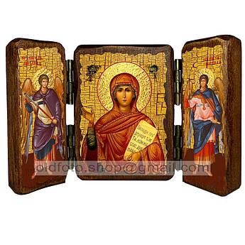 Икона Анна Святая Пророчица  ,икона на дереве 260х170 мм