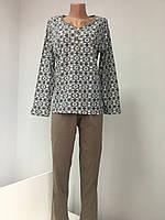 Пижама женская хлопок Узбекистан кофта и штаны