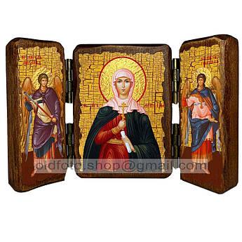 Икона Ариадна Святая мученица  ,икона на дереве 260х170 мм