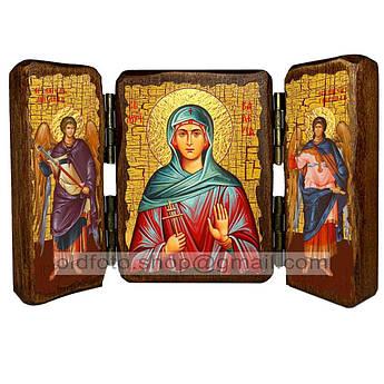 Икона Валерия (Калерия) Святая Мученица Кесарийская  ,икона на дереве 260х170 мм